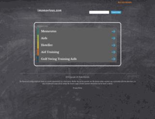 apps.imomentous.com screenshot