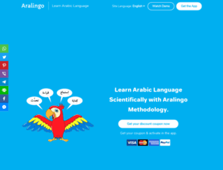 apps.learnrealarabic.com screenshot
