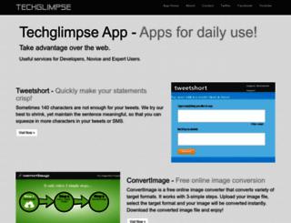 apps.techglimpse.com screenshot
