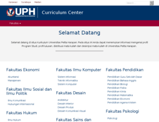 apps.uph.edu screenshot