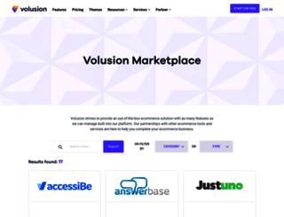 apps.volusion.com screenshot
