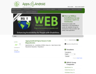 apps4android.org screenshot