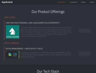 appscienti.com screenshot