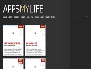 appsmylife.com screenshot