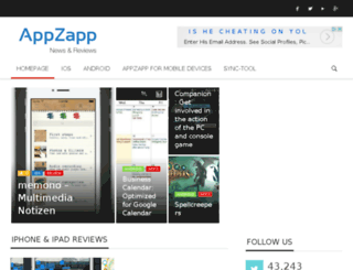 appzapp.net screenshot
