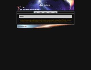 appzuniverse.org screenshot