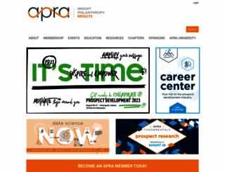 aprahome.org screenshot