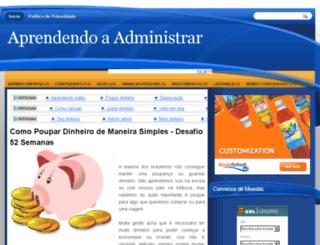 aprendendoaadministrar.com.br screenshot