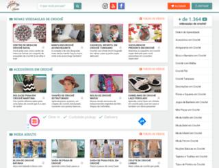 aprendendocroche.com screenshot