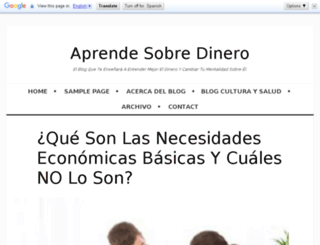 aprendesobredinero.com screenshot