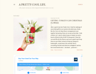 aprettycoollife.com screenshot