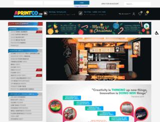 aprintco.com screenshot
