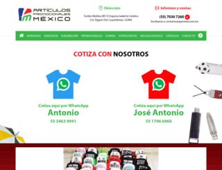 apromex.com.mx screenshot