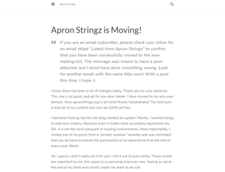 apronstringz.wordpress.com screenshot