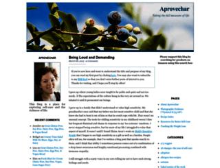 aprovechar.danandsally.com screenshot