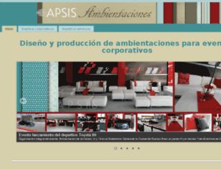 apsisambientaciones.com.ar screenshot