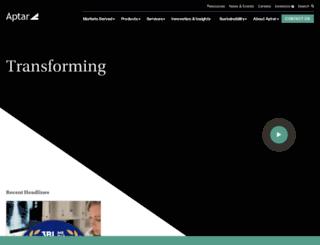aptargroup.com screenshot