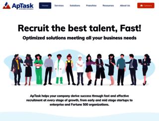 aptask.com screenshot