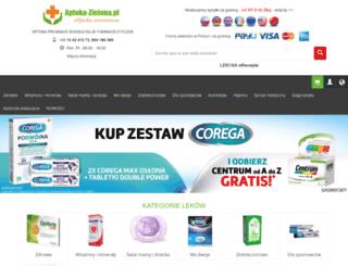 apteka-zielona.pl screenshot