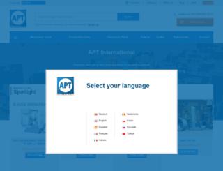 aptint.com screenshot