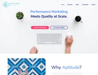 aptitude-media.com screenshot