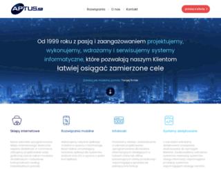 aptus.pl screenshot