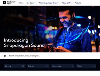 aptx.com screenshot