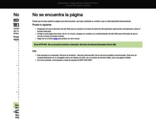 apwebserver3.agip.gov.ar screenshot