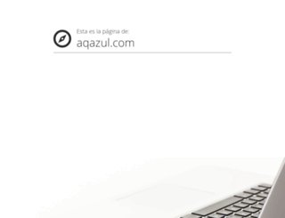 aqazul.com screenshot