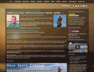 aqua-sport-evasion.fr screenshot