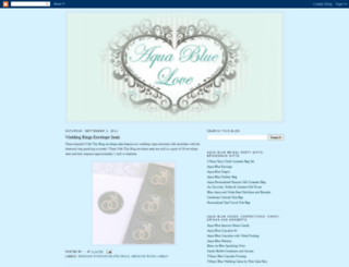 aqua-wedding-invitation.blogspot.com screenshot