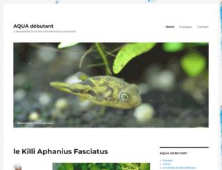 aquadebutant.com screenshot