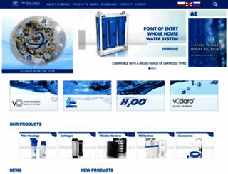 aquafilter.com screenshot