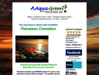 aquagreendispositions.com screenshot