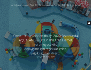 aqualand.com.tr screenshot