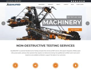 aqualified.com screenshot