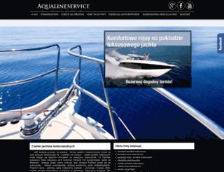 aqualineservice.pl screenshot