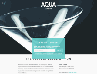 aqualoungenb.com screenshot