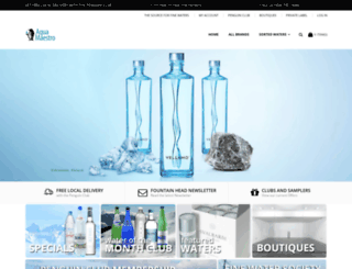aquamaestro.com screenshot