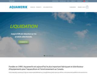 aquamerik.com screenshot