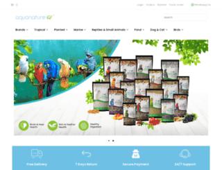 aquanatureonline.com screenshot