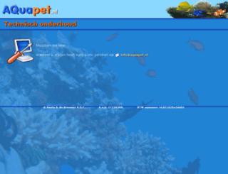 aquapet.nl screenshot