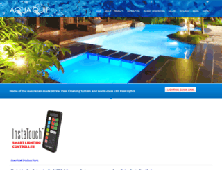 aquaquip.com.au screenshot