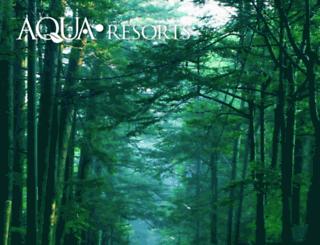 aquaresorts.jp screenshot