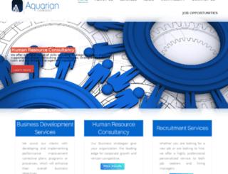 aquarianconsult.com screenshot