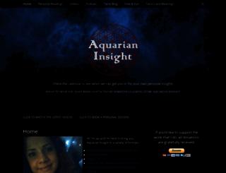 aquarianinsight.com screenshot