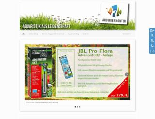 aquarienkontor.de screenshot