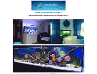 aquariophile-services.fr screenshot