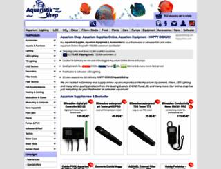aquaristikshop.com screenshot