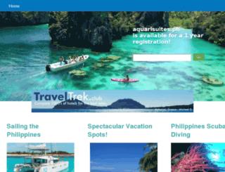 aquarisuites.ph screenshot